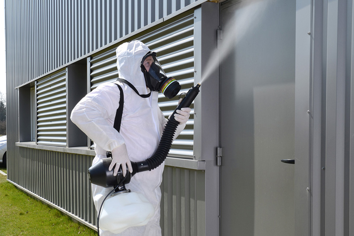 Decontamination par un agent