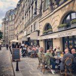 Terrasses de restaurants pour la reouverture au deconfinement