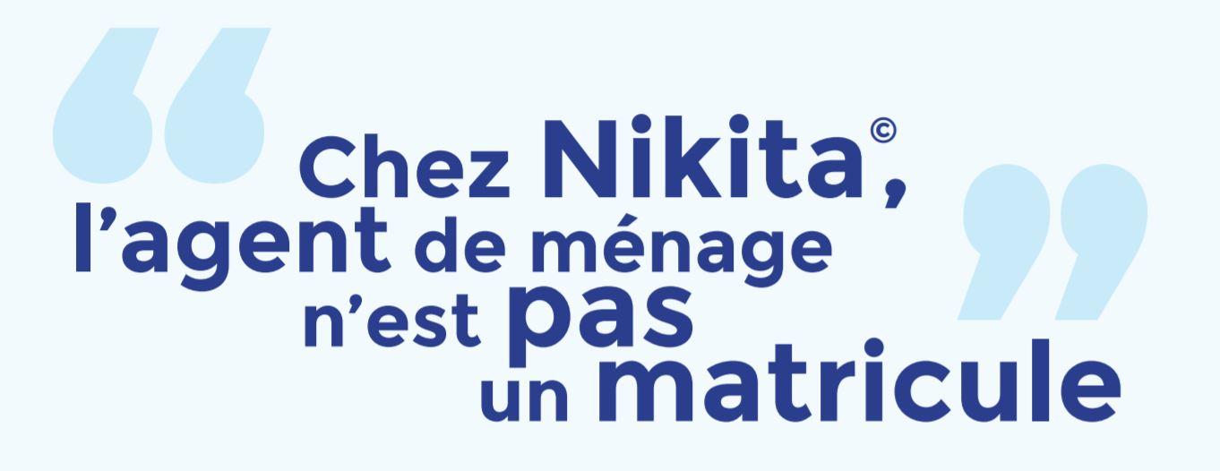 Citation Emilie Chez Nikita l'agent de menage n'est pas un matricule